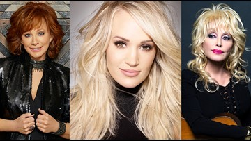 Dolly Parton, Reba McEntire & Carrie Underwood are hosting the 2019 CMA Awards