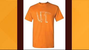 High demand for boy's University of Tennessee t-shirt design crashes Vol Shop server