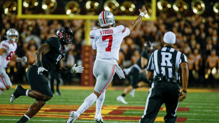 Ohio State ranked No. 3 in AP poll ahead of matchup with Oregon