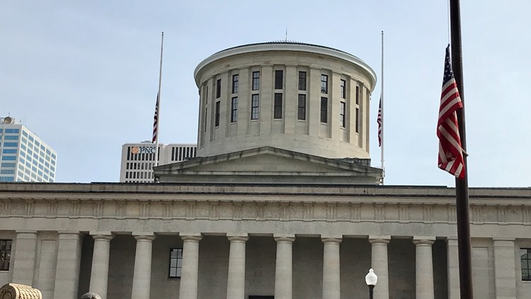 DeWine issues all US, Ohio flags to be flown at half-staff following deadly Indianapolis shooting