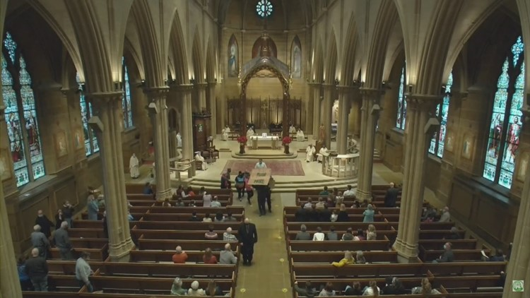 Four charged in disruption of pro-life mass at downtown Columbus church