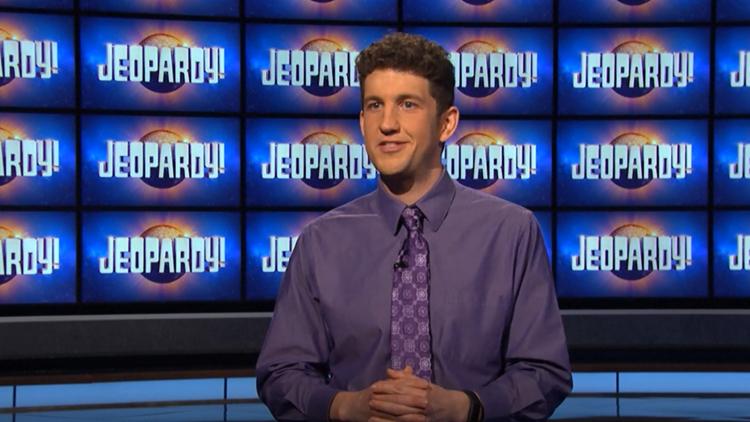 Medina native Matt Amodio crosses $1 million mark after 28th straight win on 'Jeopardy!'