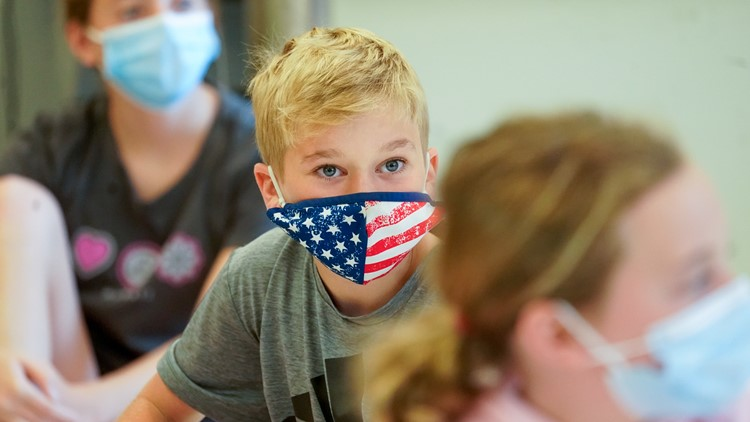Gov. Mike DeWine: Nearly 58% of K-12 students required to wear masks in Ohio schools