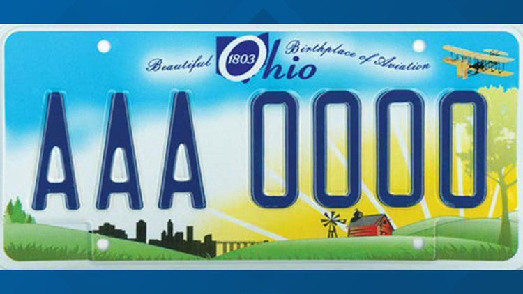 PHOTOS: A look back at some of Ohio's past license plates