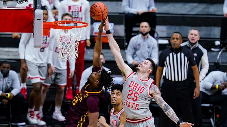 Ohio State moves on in Big Ten tournament with 79-75 win over Minnesota