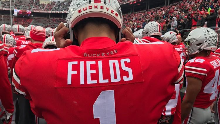 Ohio State Quarterback Justin Fields Starts Online Petition Asking Big Ten To Reinstate Football Season Wkyc com