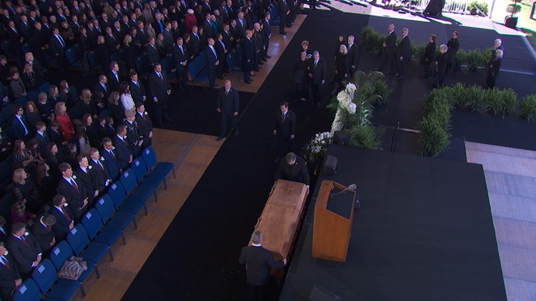 Minute-by-minute: Rev. Billy Graham funeral