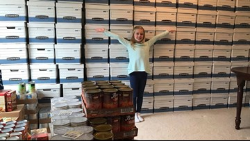 9-year-old girl raises enough money to buy 108 Thanksgiving meals and turkeys for families in need