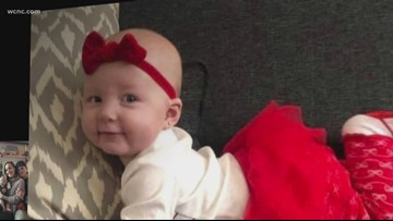 NC family grieves for baby given deadly dose of Benadryl at daycare, police say