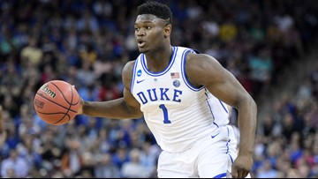 Zion Williamson, Duke hold off UCF 77-76 to reach Sweet 16