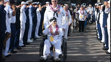 Humbling ceremony for Coles, other Pearl Harbor survivors