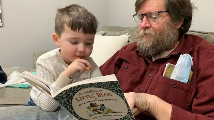 Former teacher revisits role for four-year-old grandson ...