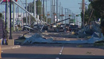 Tornado rips through North Dallas; 90,000+ without power early