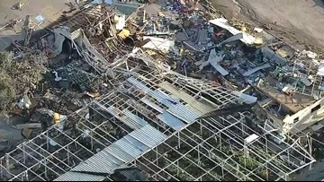 Dallas tornado classified an EF-3, had winds up to 140 mph