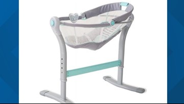 Warning issued to stop using popular infant sleeper that could cause suffocation