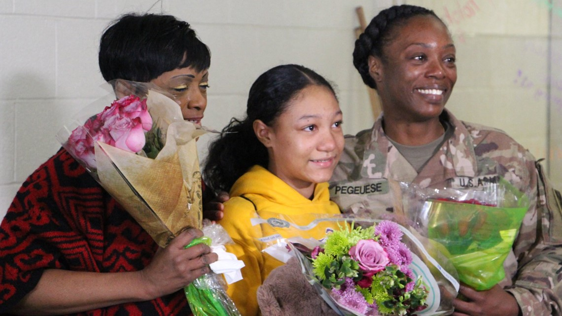 Grab The Tissues! Military Mom Surprises Daughter At School