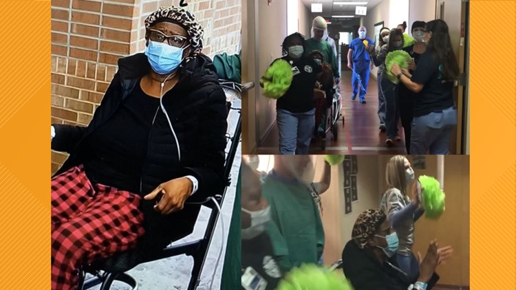 Hospital staff sing Pharrell Williams' 'Happy' as final patient leaves North Carolina COVID-19 only facility