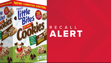 Recall issued for Entenmann's Little Bites mini cookies