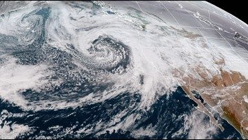 New storm brings risk of blizzard to Northern California