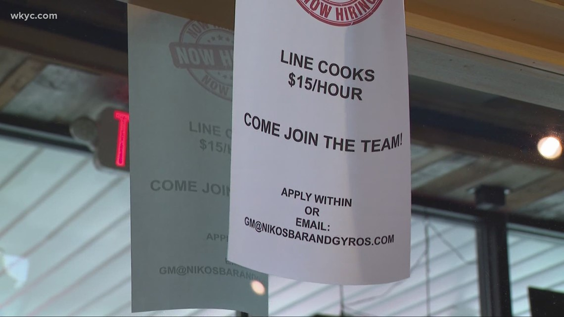 NE Ohio businesses try to attract workers amid labor shortage