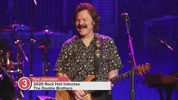 The Doobie Brothers' Tom Johnston reacts to Rock and Roll Hall of Fame Induction announcement