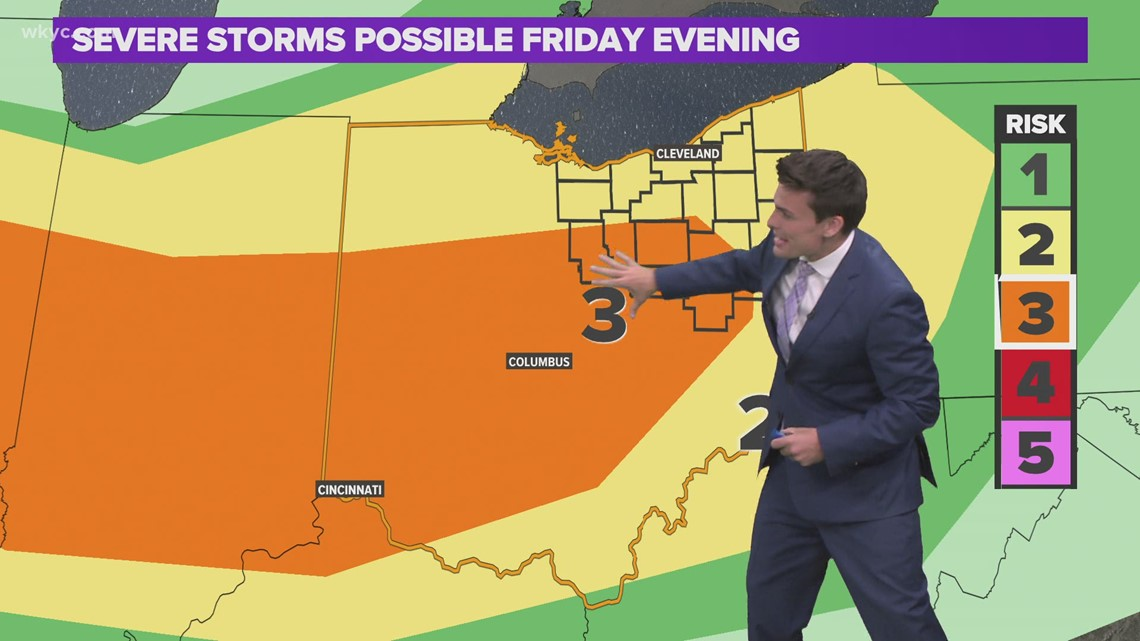 Cleveland weather: Tracking severe weather in parts of Northeast Ohio