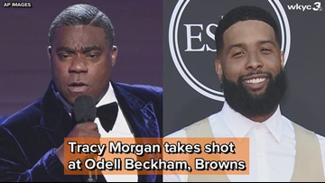 WATCH   Tracy Morgan roasts Odell Beckham Jr. for joining Cleveland Browns at 2019 ESPY Awards