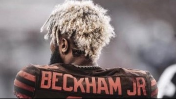 official photos 55a22 5c994 Freddie Kitchens: Odell Beckham Jr. 'seems fired up, ready ...