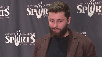 Baker Mayfield's award is a reminder that football is the real King in Cleveland -- Bud Shaw's Sports Spin