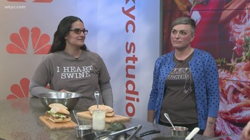 'Lady Butchers' who 'Beat Bobby Flay' stop by What's New