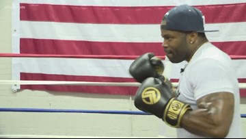 Fitness instructor uses boxing to raise awareness of mental illness