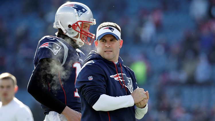 Josh McDaniels San Diego Chargers-New England Patriots Football