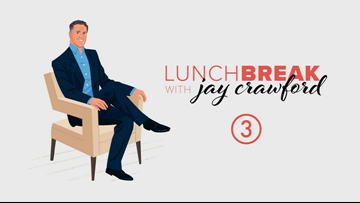 Watch again: Popular foods for 2020, the dirtiest part of your car, & what to do for New Year's Eve on Lunch Break with Jay Crawford