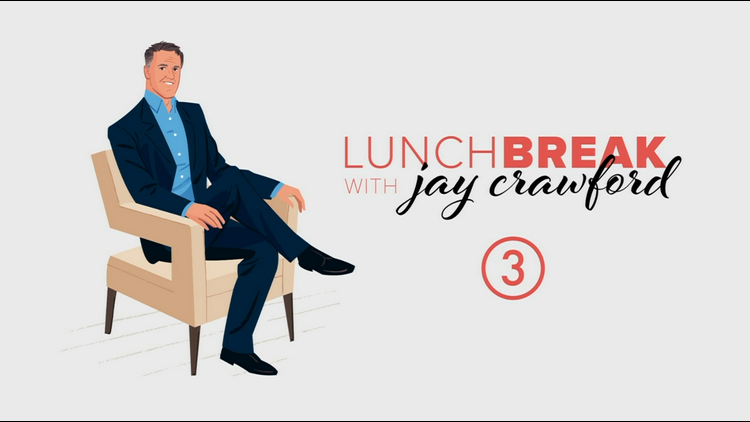 The latest on Chapel Hill Mall's status and how companies are targeting buyers with digital billboards on Lunch Break with Jay Crawford