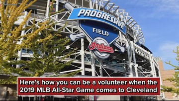 Here's how you can be a volunteer when the 2019 MLB All-Star Game comes to Cleveland