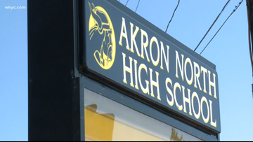 Akron North High School special needs student left alone on school van for 3 hours