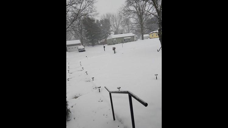 Christina Reimer Chereson snow photo from Ashland