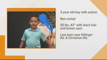MISSING: 2-year-old boy with autism missing in Summit County