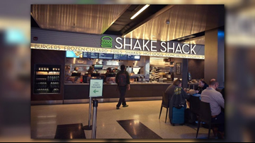 Shake Shack opens at Cleveland Hopkins Airport