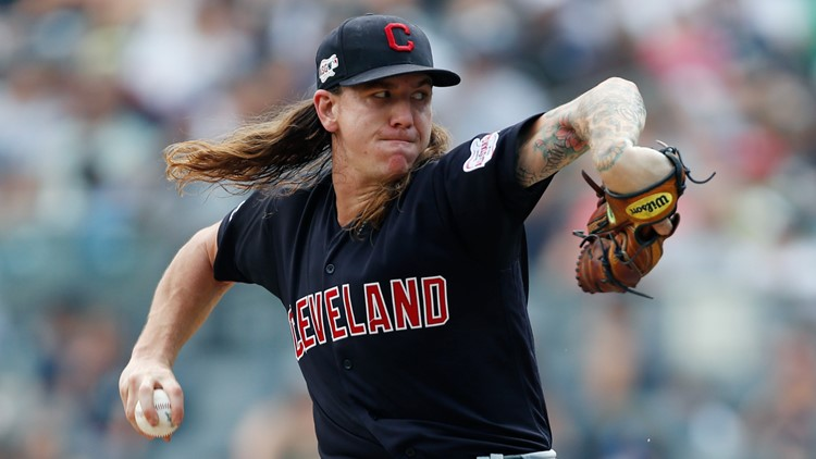 Mike Clevinger Indians Yankees Baseball