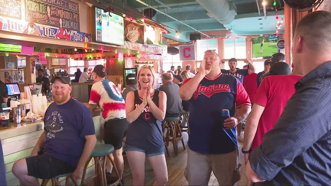 Downtown Cleveland comes to life again