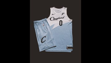 online store 58eba 119b8 First look at Cleveland Cavaliers' new 'Earned Edition ...