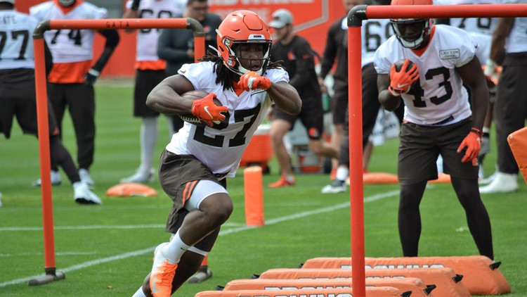 Cleveland Browns OTAs: Kareem Hunt