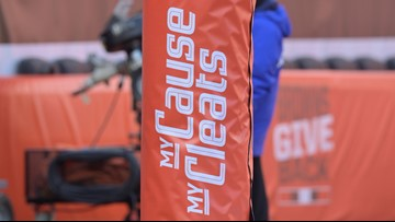 My Cause, My Cleats. Cleveland Browns will representing several charitable causes in Sunday's game