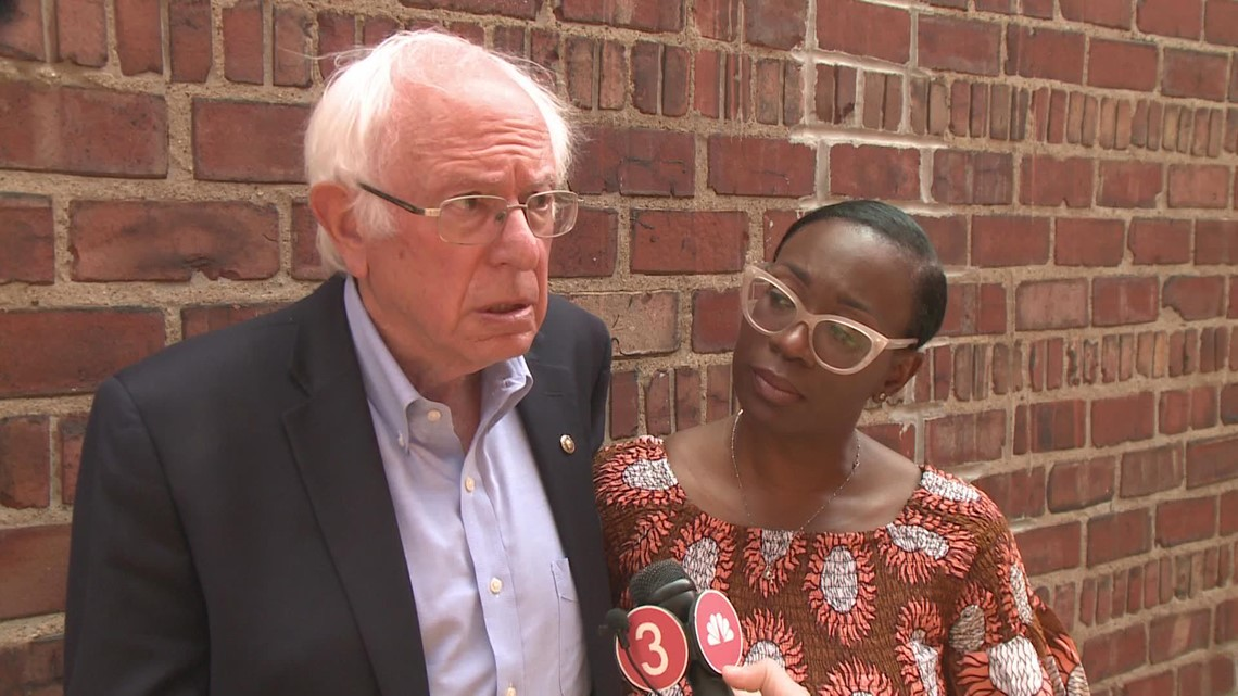 FULL INTERVIEW: Bernie Sanders campaigns for Nina Turner in Cleveland