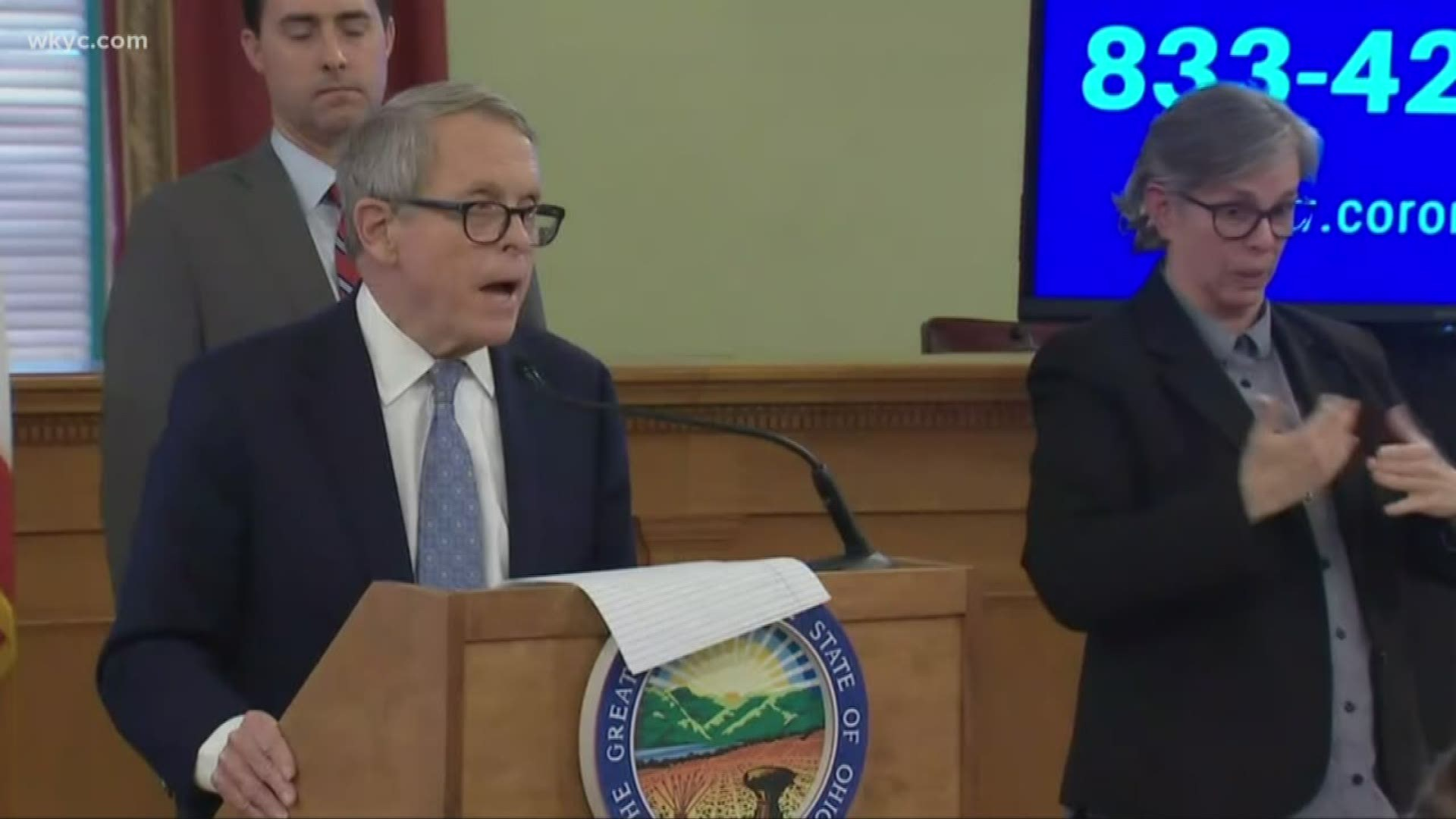 Ohio Gov Mike Dewine Issues Order Against Elective Surgeries Wkyc Com