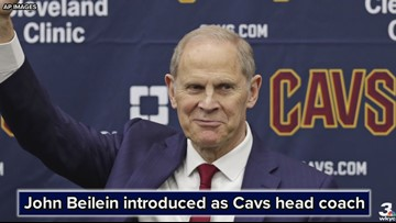John Beilein introduced as Cleveland Cavaliers head coach