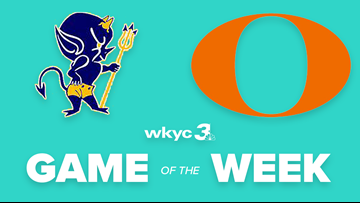 PLAY SUSPENDED | Orange leads Wickliffe 28-14 in WKYC.com's High School Football Game of the Week