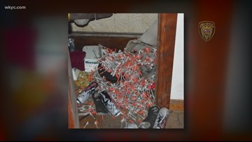 Hundreds of hypodermic needles found at site of double deadly overdose in Lorain