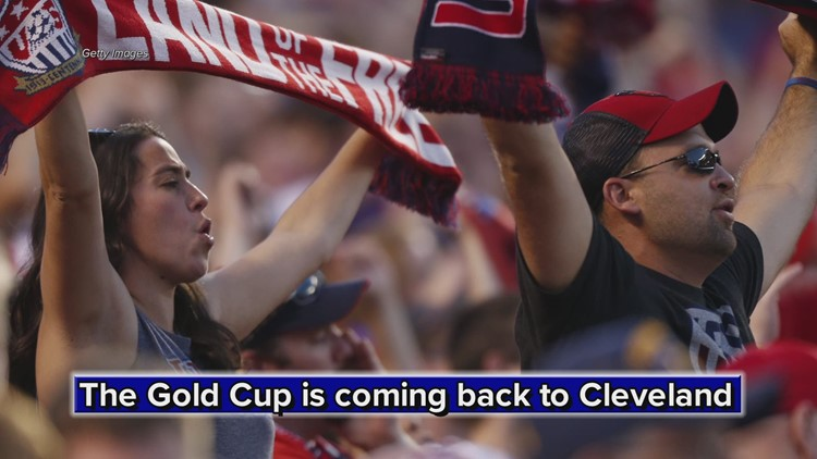 USMNT, CONCACAF Gold Cup return to Cleveland this summer